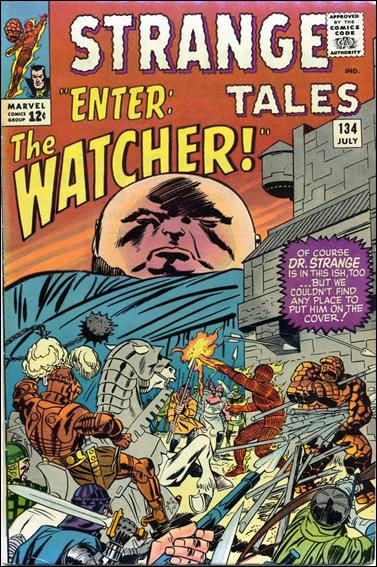 Strange Tales (1951) 134-A by Marvel