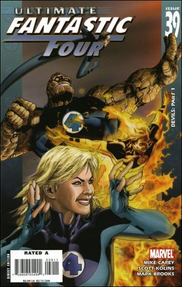 Ultimate Fantastic Four 39-A by Marvel