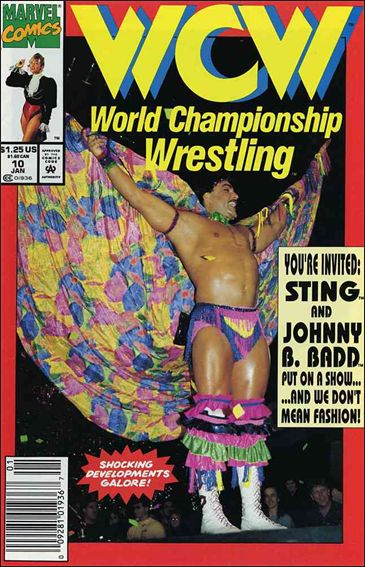 WCW: World Championship Wrestling 10-A by Marvel