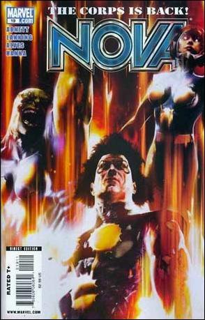 Nova (2007) 19-A by Marvel