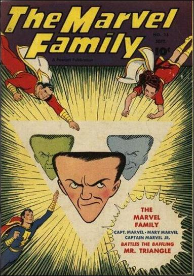 Marvel Family 15-A by Fawcett