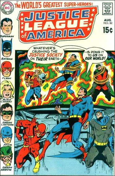 Justice League of America (1960) 82-A by DC