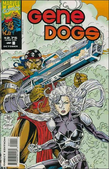 Gene Dogs (UK) 1-A by Marvel UK