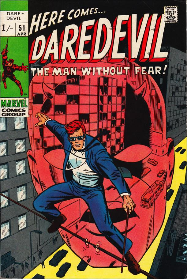 Daredevil (1964) 51-B by Marvel