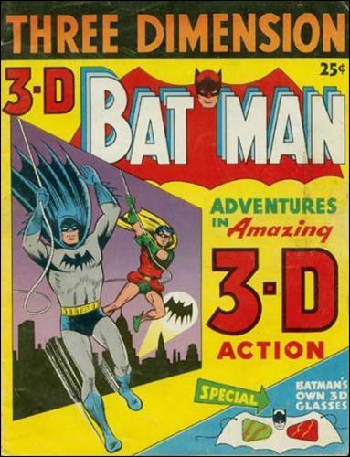 3-D Batman 1-A by DC
