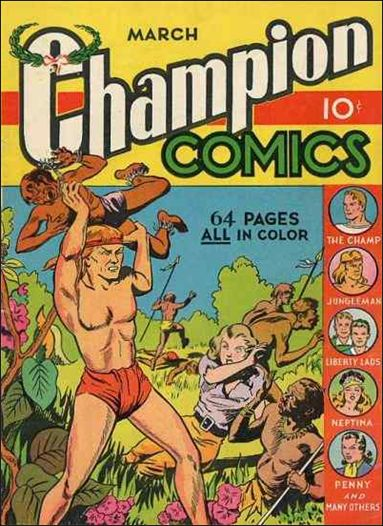 Champion Comics 5-A by Harvey