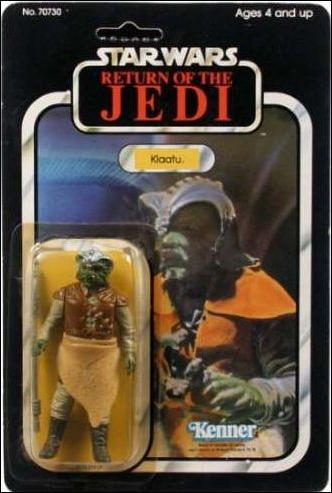 "Star Wars 3 3/4"" Basic Action Figures (Vintage) Klaatu (RotJ) by Kenner"