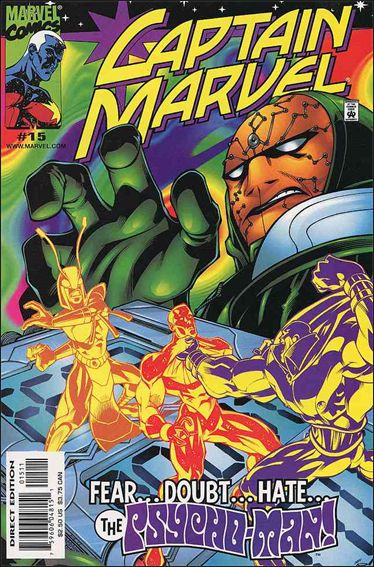 Captain Marvel (1999) 15-A by Marvel