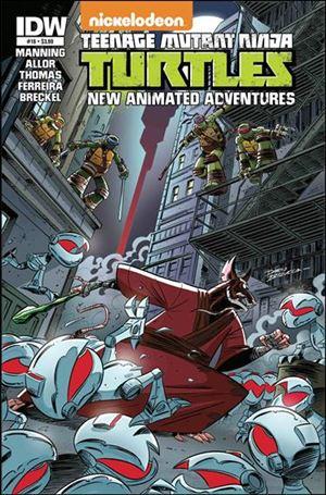 Teenage Mutant Ninja Turtles New Animated Adventures 16-A
