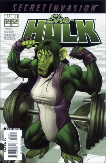 She-Hulk (2005) 32-B by Marvel