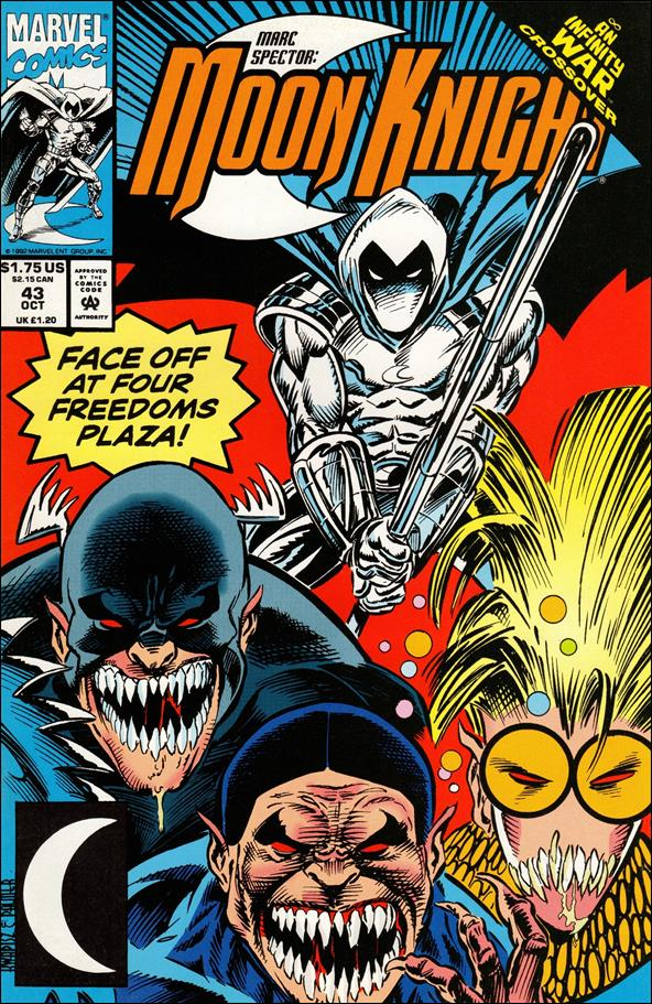 Marc Spector: Moon Knight 43-A by Marvel