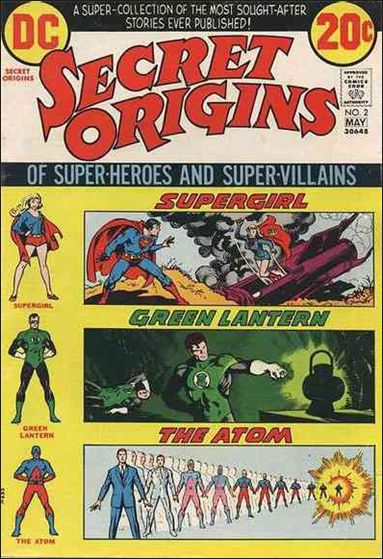 Secret Origins (1973) 2-A by DC
