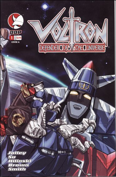 Voltron: Defender of the Universe (2004) 1-A by Devil's Due
