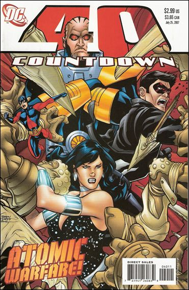 Countdown (2007) 40-A by DC