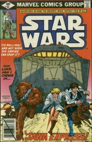 Star Wars (1977) 32-A by Marvel