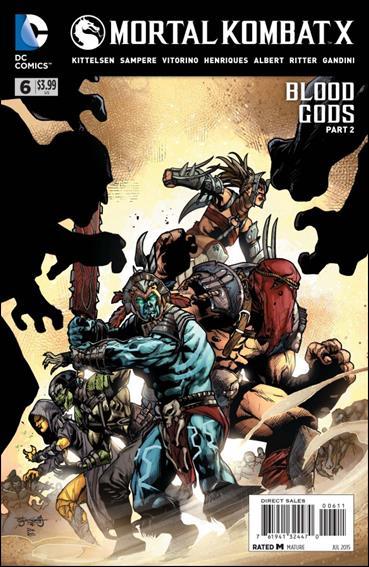 Mortal Kombat X 6-A by DC