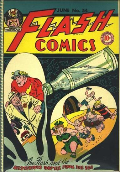Flash Comics (1939) 54-A by DC