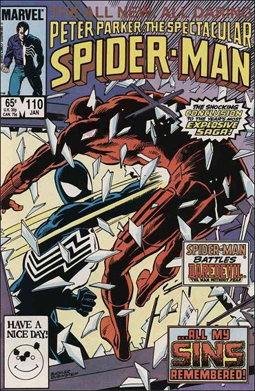 Spectacular Spider-Man (1976) 110-A by Marvel