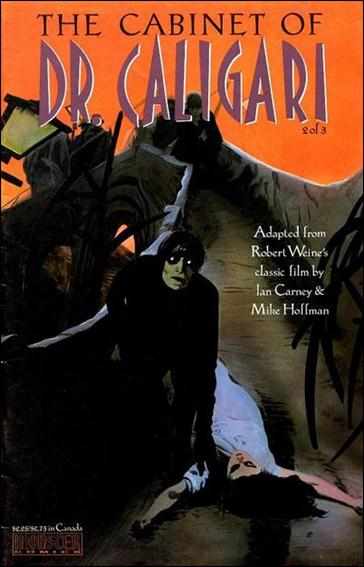 Cabinet of Dr. Caligari 2-A by Monster Comics