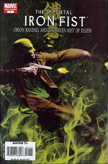 Immortal Iron Fist: Orson Randall and the Green Mist of Death 1-A by Marvel