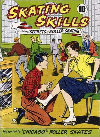 Skating Skills 1-A by American Comics Group (ACG)