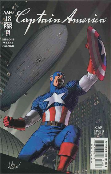 Captain America (2002) 18-A by Marvel