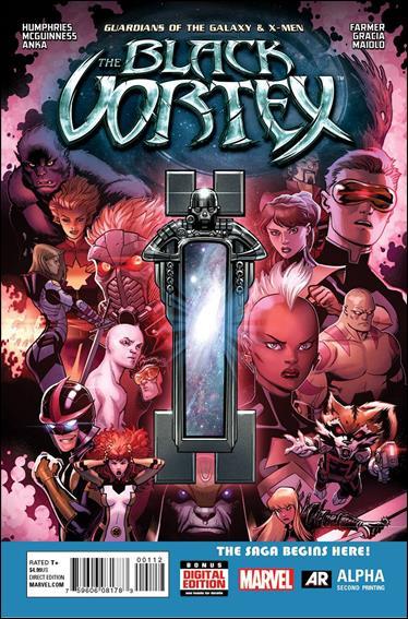 Guardians of the Galaxy & X-Men: The Black Vortex Alpha 1-D by Marvel