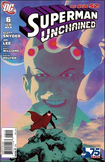 Superman Unchained 6-F by DC