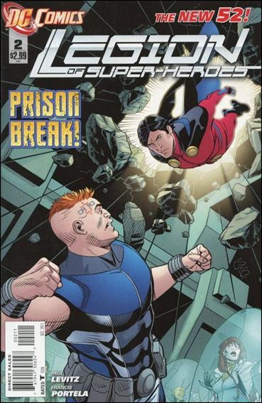 Legion of Super-Heroes (2011) 2-A by DC