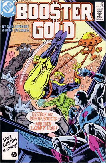 Booster Gold (1986) 10-A by DC