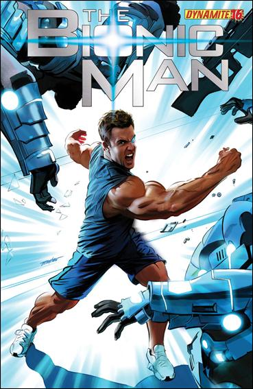 Bionic Man 16-A by Dynamite Entertainment