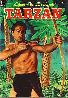 Tarzan (1948) 47-A by Dell