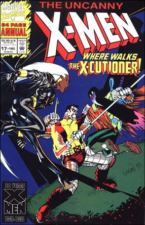 Uncanny X-Men Annual 17-B