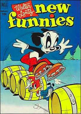 Walter Lantz New Funnies 180-A by Dell