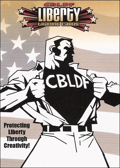 CBLDF Liberty Trading Cards (Promo) P1-A by Cryptozoic Entertainment