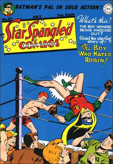 Star Spangled Comics (1941) 82-A by DC