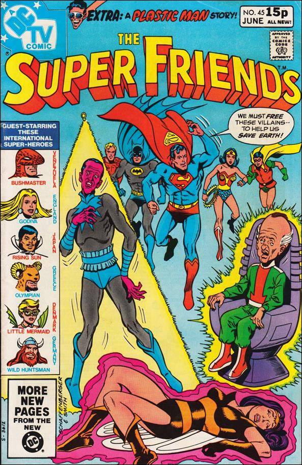 Super Friends (1976) 45-B by DC