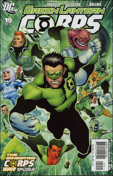 Green Lantern Corps (2006) 19-A by DC