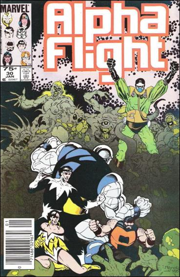 Alpha Flight (1983) 30-B by Marvel