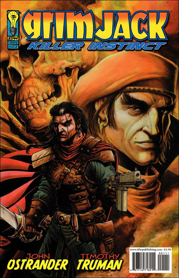 Grimjack: Killer Instinct 1-A by IDW