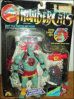 ThunderCats (1985) Mumm-Ra and Ravage by LJN