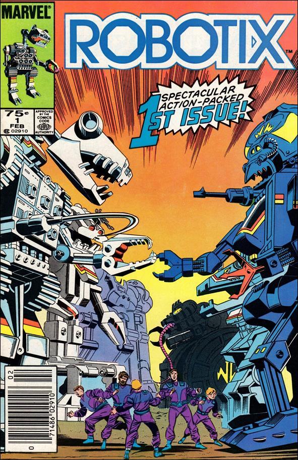 Robotix 1-A by Marvel