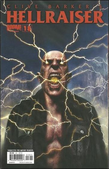Clive Barker's Hellraiser (2011) 18-B by Boom! Studios