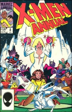 Uncanny X-Men Annual 8-A by Marvel