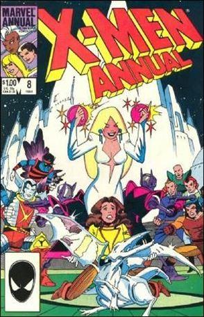 Uncanny X-Men Annual 8-A