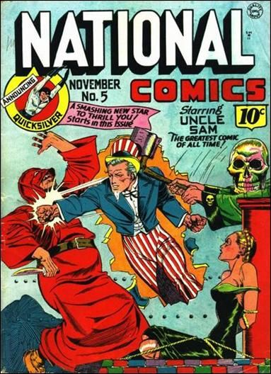 National Comics (1940) 5-A by Quality