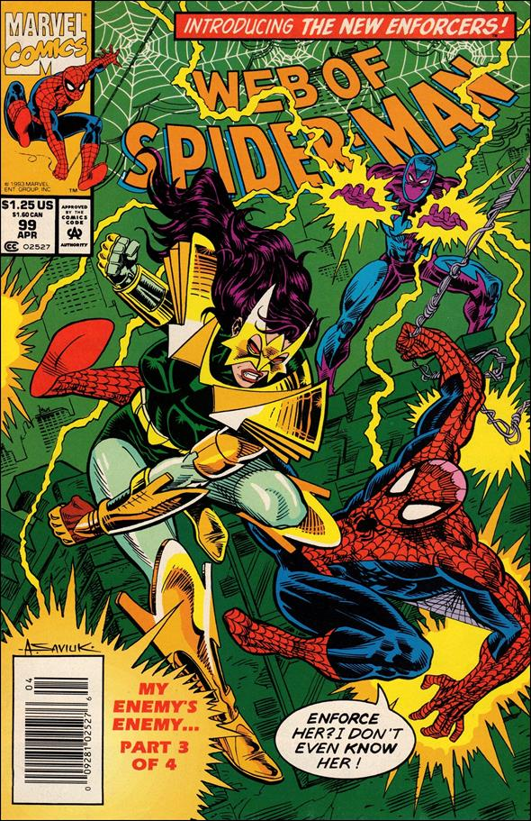 Web of Spider-Man (1985) 99-A by Marvel
