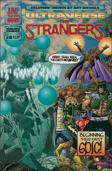 Strangers (1993) 8-A by Malibu