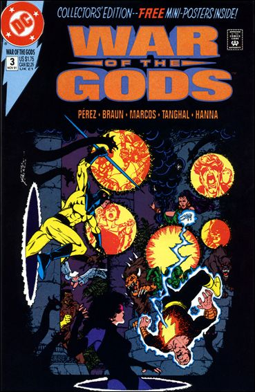 War of the Gods 3-B by DC