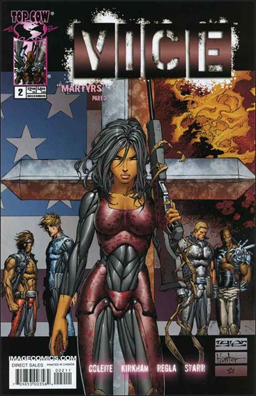 V.I.C.E. 2-A by Top Cow